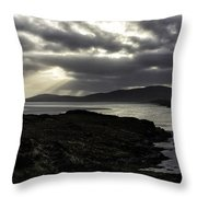 Nightfall Isle Of Harris Throw Pillow