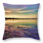 Nightfall On The Bay Throw Pillow