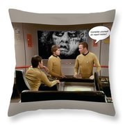 Nightmare At 20,000 Light-years Throw Pillow