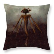 Nightmare Monster Throw Pillow