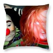 Nightmare Neighbors Throw Pillow