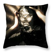 Nightmare Screams Throw Pillow