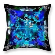 Nightmares And Dreamscapes Throw Pillow