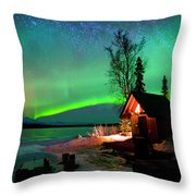Nights Bliss Throw Pillow