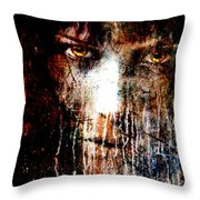 Night Eyes Throw Pillow