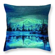 Nights Scope Dreams Throw Pillow