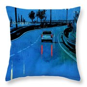 Nightscape 03 Throw Pillow