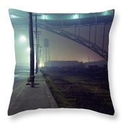 Nightscape 2 Throw Pillow