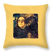 Nightshade And The Stumbling Aspirant Throw Pillow