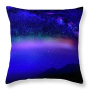 Nightsky Africa 6 Throw Pillow