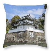 Nijo Castle Throw Pillow