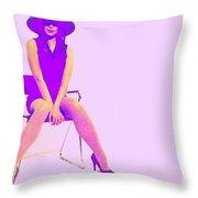 Niki Throw Pillow by Naxart Studio