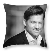 Nikolaj Coster-waldau 5 Throw Pillow