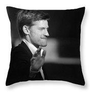 Nikolaj Coster-waldau 8 Throw Pillow