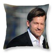 Nikolaj Coster-waldau Throw Pillow