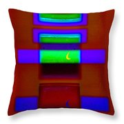 Nile Totem Throw Pillow