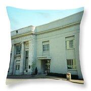Niles, Ohio - Vintage Bank Throw Pillow