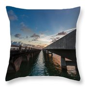 Niles Summer Sunset Throw Pillow