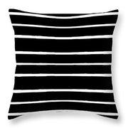 Nine Bars Throw Pillow
