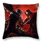 Ninja Gaiden 3 Throw Pillow