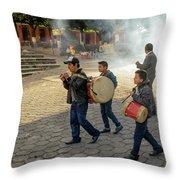 Nino Del Tambor - Ciudad Vieja Throw Pillow