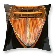 Nipissing Boat Throw Pillow