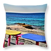 Nippers View Throw Pillow