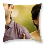 Nithin Samantha A Aa Telugu Movie Throw Pillow