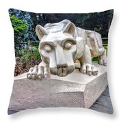 Nittany Lion Throw Pillow