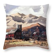 Niwot Colorado Throw Pillow
