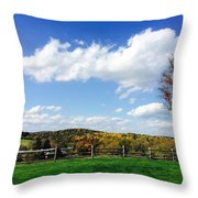 17th Hole Throw Pillow