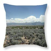 New Mexico Landscape 3 Throw Pillow