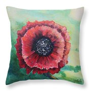 No. 13 Spring And Summer Floral Series Throw Pillow