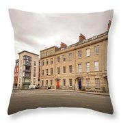 No 18-21 Portland Square Bristol England A Throw Pillow