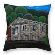 No 46 Throw Pillow