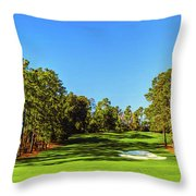 No. 8 Yellow - Jasmine 570 Yards Par 5 Throw Pillow