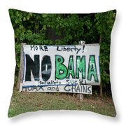 No Bama Throw Pillow