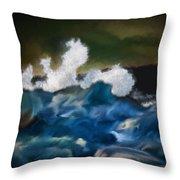 No Calm Before The Storm Throw Pillow