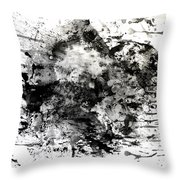 No Color Needed 1 Throw Pillow