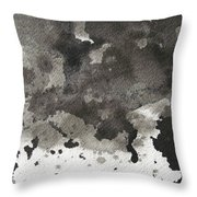 No Color Needed 5 Throw Pillow