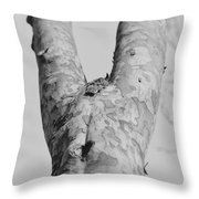No Dress Throw Pillow