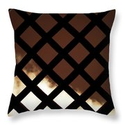 No Escape Throw Pillow by Wim Lanclus