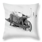 No Gardening Yet Throw Pillow