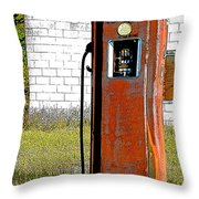 No Gas Today Throw Pillow