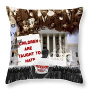 No Hate Throw Pillow