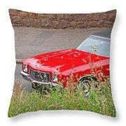 No Hiding Place - Monte Carlo Ss 1970 Throw Pillow