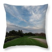 Pathway To The Sky Throw Pillow