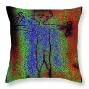 No Known Gender Throw Pillow