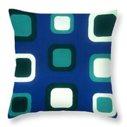 No Major Throw Pillow by Oliver Johnston