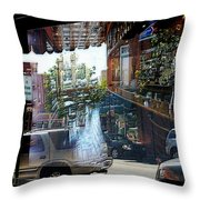 No Parking In The Bar Throw Pillow